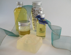 handmade bath and body products