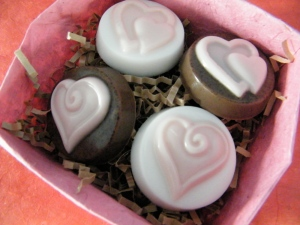 Valentine Chocolate Mint Soap