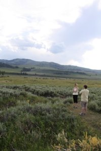 Hiking in Yellowstone