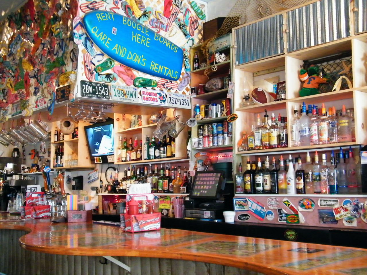 Clare and Don's Beach Shack: Good Food, Gators and Going ...