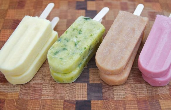 An assortment of Pleasant Pops