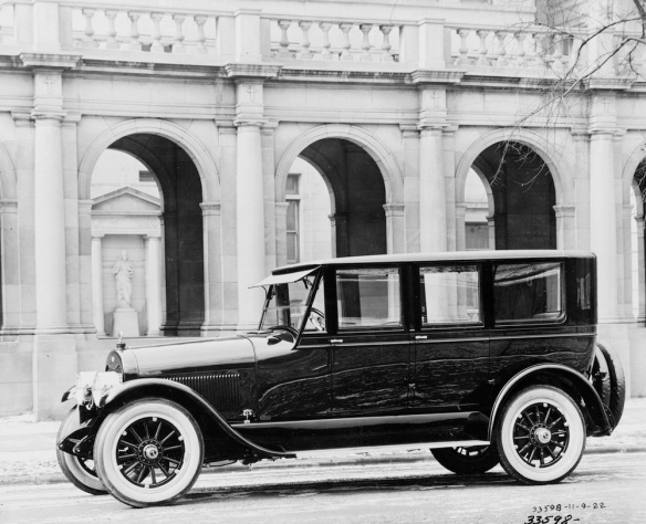 The 1922 Lincoln Model 117 Seven-passenger Sedan